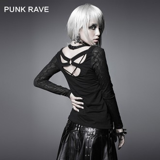 t-shirt da donna con maniche lunghe PUNK RAVE - Black Metal, PUNK RAVE