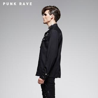 camicia da uomo con maniche lunghe PUNK RAVE - Nostromo, PUNK RAVE