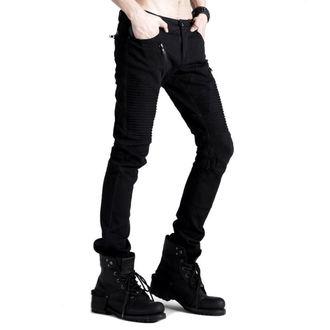 pantaloni da uomo PUNK RAVE - Black Engine