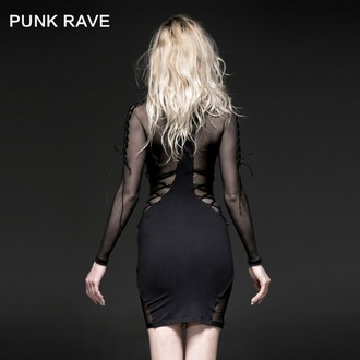 vestito donna PUNK RAVE - Fatal Kiss, PUNK RAVE