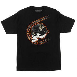 t-shirt street uomo - Black Out - METAL MULISHA, METAL MULISHA