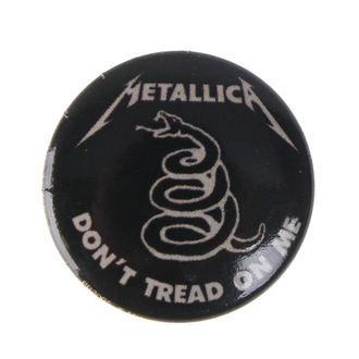 distintivo Metallica - DON'T TREAD ON ME - BIOWORLD, BIOWORLD, Metallica
