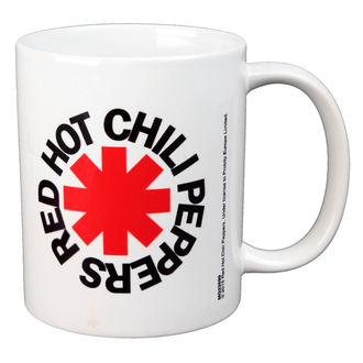 tazza RED HOT CHILI PEPPERS - LOGO - BIOWORLD, BIOWORLD, Red Hot Chili Peppers