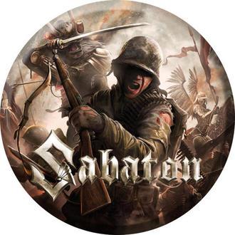 distintivo Sabaton - The last stand - NUCLEAR BLAST, NUCLEAR BLAST, Sabaton