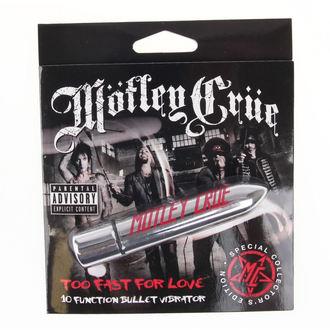 Vibratore Motley  Crue - Too Fast For Love 10 - Pagatore CAPO, PLASTIC HEAD, Mötley Crüe