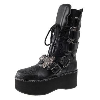 scarpe con cuneo donna - THOR-VIKING - ALCHEMY GOTHIC, ALCHEMY GOTHIC