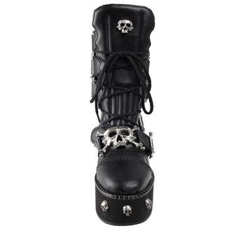 scarpe con cuneo donna - I DIETH-SKULL - ALCHEMY GOTHIC, ALCHEMY GOTHIC