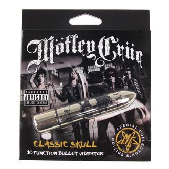 Vibratore Motley  Crue - Classic Skull 10 - P&&string1&&, PLASTIC HEAD, Mötley Crüe