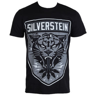 t-shirt metal uomo Silverstein - Tiger - PLASTIC HEAD, PLASTIC HEAD, Silverstein