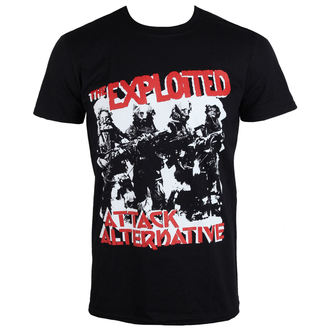 t-shirt metal uomo Exploited - The Attack - PLASTIC HEAD