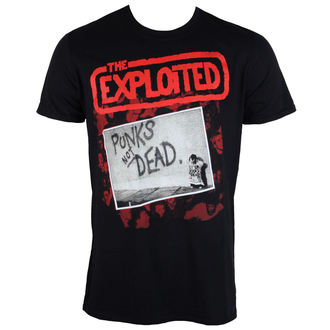 t-shirt metal uomo Exploited - The Punks Not Dead - PLASTIC HEAD, PLASTIC HEAD, Exploited
