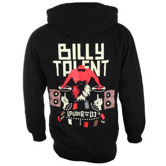 felpa con capuccio uomo Billy Talent - Louder Than The DJ - PLASTIC HEAD, PLASTIC HEAD, Billy Talent