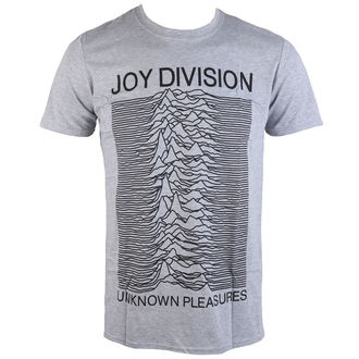 t-shirt metal uomo Joy Division - Unknown Pleasures - PLASTIC HEAD, PLASTIC HEAD, Joy Division