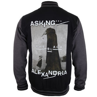 felpa senza cappuccio uomo Asking Alexandria - The Black Original Art - PLASTIC HEAD