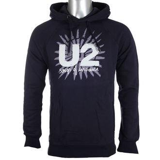 felpa con capuccio uomo U2 - Songs Of Innocence - PLASTIC HEAD, PLASTIC HEAD, U2