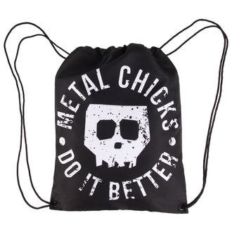 sacca Metal chicks do it better - Skull, METAL CHICKS DO IT BETTER