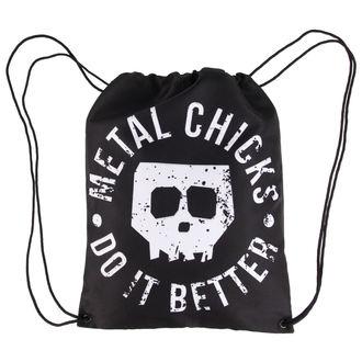 sacca Metal chicks do it better - Skull - MCDIB002