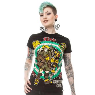 t-shirt donna - STEAMPUNK LEGEND T - CUPCAKE CULT, CUPCAKE CULT