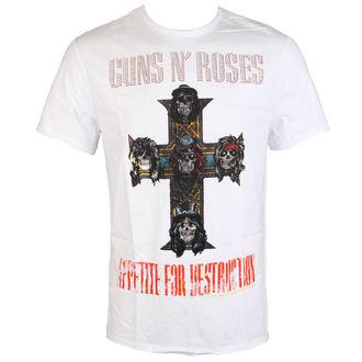 t-shirt metal uomo Guns N' Roses - CLASSIC DIAMANTE - AMPLIFIED, AMPLIFIED, Guns N' Roses