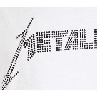 canotta da uomo  METALLICA - LOGO WHITE - AMPLIFIED, AMPLIFIED, Metallica