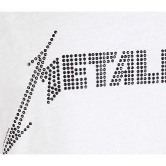 canotta da uomo  METALLICA - LOGO WHITE - AMPLIFIED, AMPLIFIED, Metallica