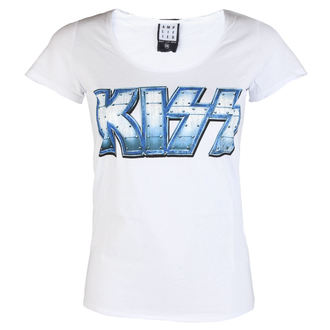 t-shirt metal donna Kiss - METAL DISTRESSED - AMPLIFIED, AMPLIFIED, Kiss