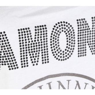 Canotta da donna  RAMONES - LOGO DIAMANTE - BIANCA - AMPLIFIED, AMPLIFIED, Ramones