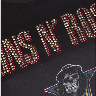 t-shirt metal donna Guns N' Roses - CLASSIC DIAMANTE - AMPLIFIED, AMPLIFIED, Guns N' Roses