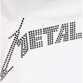 Canotta da donna  METALLICA - CLASSIC LOGO WHITE - AMPLIFIED, AMPLIFIED, Metallica