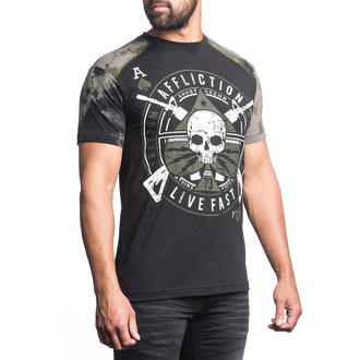 t-shirt hardcore uomo - Ace Lightning - AFFLICTION, AFFLICTION