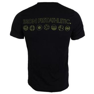 t-shirt street uomo - Black - IRON FIST, IRON FIST