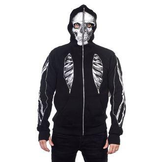 felpa con capuccio uomo - Skeleton Bone - BANNED, BANNED