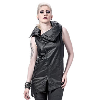 gilet donna - Collar and Assymetric - QUEEN OF DARKNESS, QUEEN OF DARKNESS