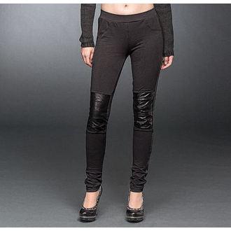 Pantaloni donna (leggins) QUEEN OF DARKNESS - Black, QUEEN OF DARKNESS