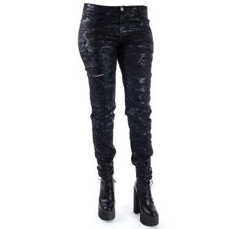 pantaloni donne QUEEN OF DARKNESS - Cracks, QUEEN OF DARKNESS