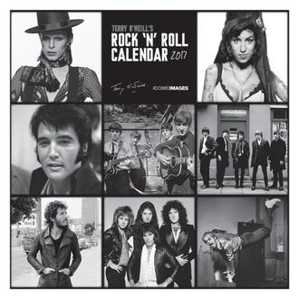 calendario Terry O'Neill Roccia 'n' Rotolo 2017, PYRAMID POSTERS