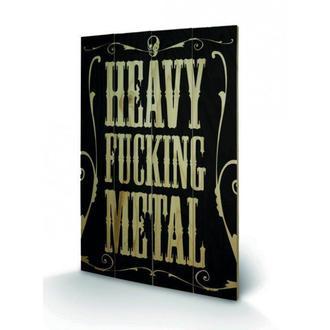 immagine pesante cazzo Metallo, PYRAMID POSTERS
