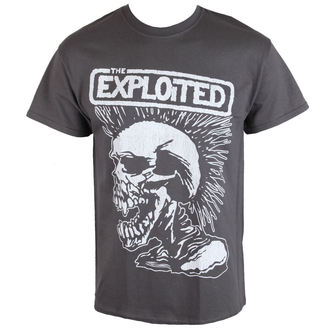 t-shirt metal uomo Exploited - VINTAGE SKULL - RAZAMATAZ, RAZAMATAZ, Exploited