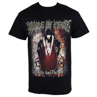t-shirt metal uomo Cradle of Filth - CRUELTY ANO THE BEAST - RAZAMATAZ, RAZAMATAZ, Cradle of Filth