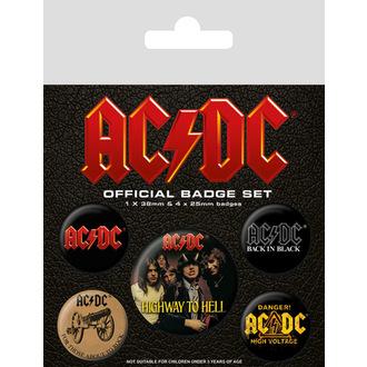spillette  AC  /  DC  (Logo), PYRAMID POSTERS, AC-DC