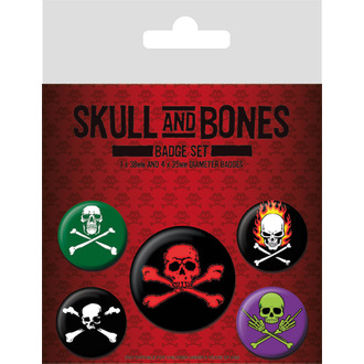 spillette Skull and Bones, PYRAMID POSTERS