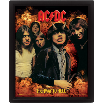 immagine 3D  AC  /  DC  - Highway to Hell, PYRAMID POSTERS, AC-DC