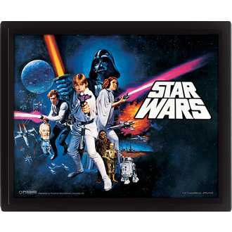immagine 3D Star Wars - A New Hope, PYRAMID POSTERS