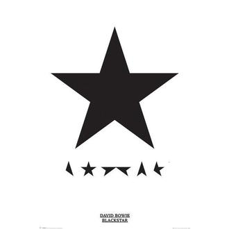 Manifesto David Bowie - Blackstar, PYRAMID POSTERS, David Bowie