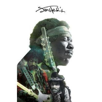 Manifesto Jimi Hendrix - Double Exposure, PYRAMID POSTERS, Jimi Hendrix