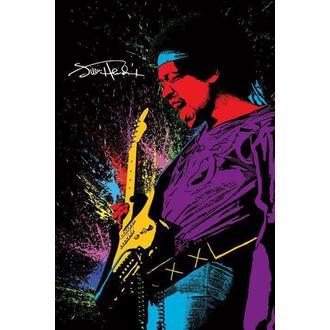 Manifesto Jimi Hendrix - Paint, PYRAMID POSTERS, Jimi Hendrix