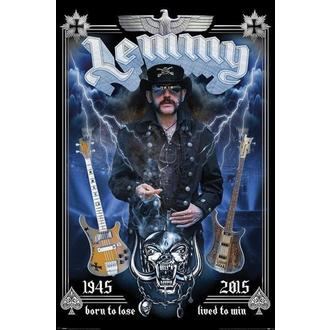 Manifesto Motorhead - Lemmy - commemorativo, PYRAMID POSTERS, Motörhead