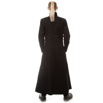 Uomo cappotto POIZEN INDUSTRIES - NEO - NERO, POIZEN INDUSTRIES