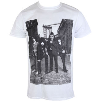 t-shirt metal uomo Kiss - B&W CITY - LIVE NATION, LIVE NATION, Kiss