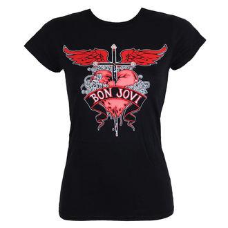 t-shirt metal donna Bon Jovi - HEART & DAGGER - LIVE NATION, LIVE NATION, Bon Jovi